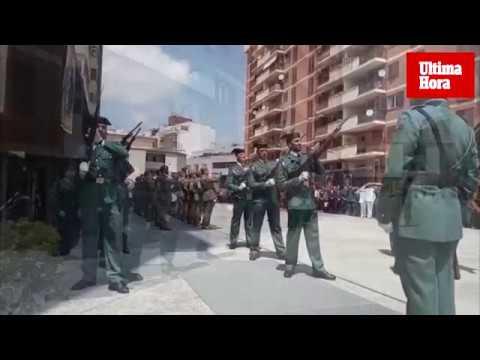 La Guardia Civil celebra en Palma su 175 aniversario: «El honor es nuestra divisa»