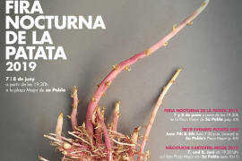 Fira Nocturna de la Patata 2019 en Sa Pobla