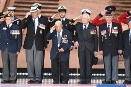 Tributo a los veteranos del 'Día D', previa al 75º aniversario del Desembarco de Normandía