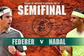 Así se ha vivido en directo el partido entre Rafael Nadal y Roger Federer