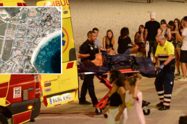 Fallece un turista británico al caer de un segundo piso en Magaluf