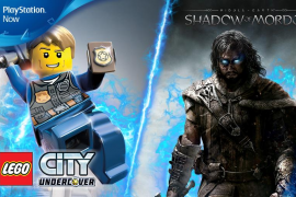 Sombras de Mordor y LEGO City Undercover disponibles es PlayStation Now