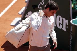 Federer: «Ya no sé con quien entrenarme para afrontar a Nadal en tierra batida»