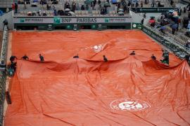 La lluvia obliga a aplazar la semifinal Djokovic-Thiem que se jugará el sábado
