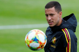 Hazard firma con el Real Madrid hasta 2024