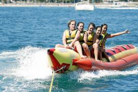 La temporada empieza en la Platja de Palma sin actividades acuáticas