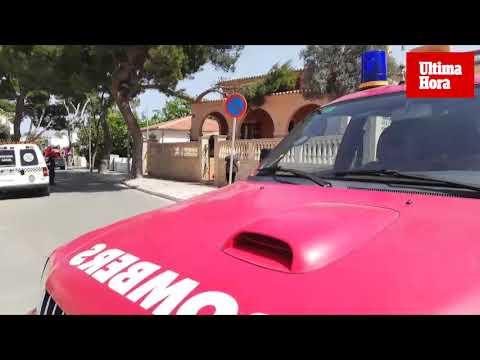 Incidentes en Mallorca por el fuerte viento