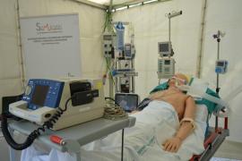 Una UCI instalada en el centro de Palma acerca la medicina a la ciudadanía