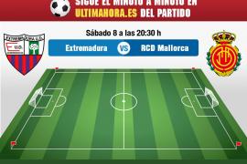 Así hemos vivido el Extremadura-Real Mallorca