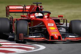 Vettel logra la 'pole' en Montreal y Sainz saldrá noveno
