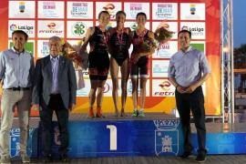 Xisca Tous, subcampeona de España de triatlón esprint