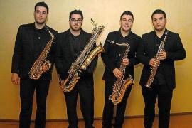 Art Sound Quartet, en concierto en Can Gelabert de Binissalem