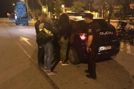 Detienen a 18 personas en cuatro días en la Playa de Palma por robos