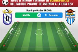 Así se ha vivido el UD Melilla-Atlético Baleares