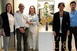 Horacio Alcolea Crespo expone su obra en la sede de la Tesorería de la Seguridad Social