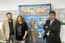 Víctor Fernández, Mar Gallardo y Xavier Borrull
