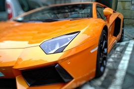 Detenido por ir a 228 km/h en un Lamborghini en una carretera secundaria