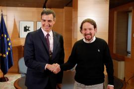 La propuesta de Sánchez a Iglesias: «Un gobierno de cooperación»