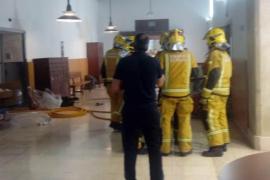 Incendio en el Hospital General