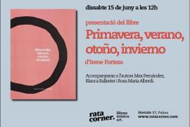 Rata Corner acoge la presentación del poemario de Irene Forteza