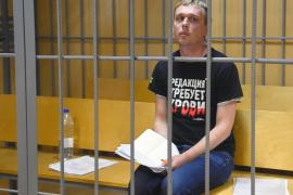Suspendidos los cargos contra el periodista ruso Ivan Golunov