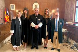 La hija del juez Manuel Marchena entre las dos nuevas fiscales que se incorporan a Baleares