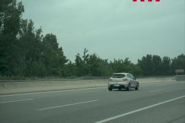 Los Mossos detienen a un joven por circular sin carné a 182 km/h