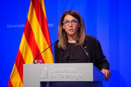La portavoz de la Generalitat genera polémica al negarse a responder preguntas en castellano
