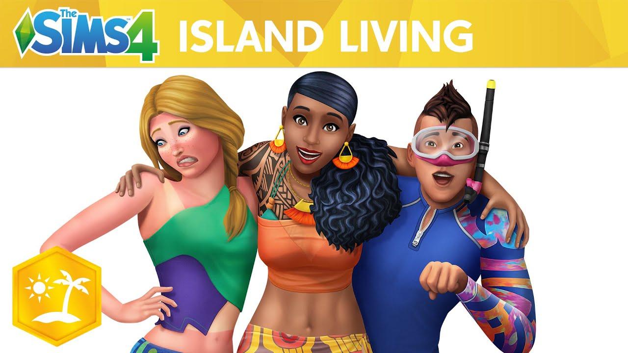 Pack de Expansión Los Sims 4 Vida Isleña