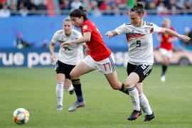 España encaja ante Alemania su primera derrota del Mundial