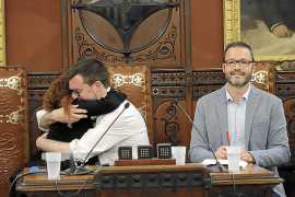 Principio de acuerdo entre el PSOE y Més para gobernar en el Ajuntament de Palma