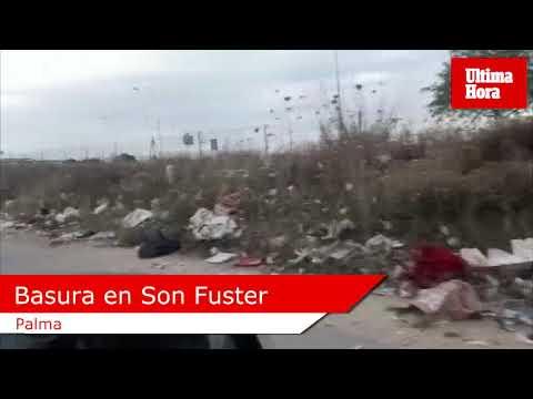 Piden el cierre inmediato del mercadillo en Son Fuster por acumulación de basura