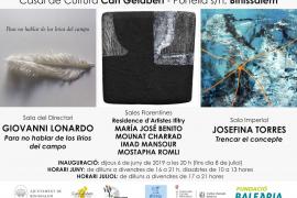 Tres exposiciones para visitar en el Casal de Cultura Can Gelabert