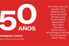 La Galería Pelaire celebra su 50 aniversario con una exposición colectiva