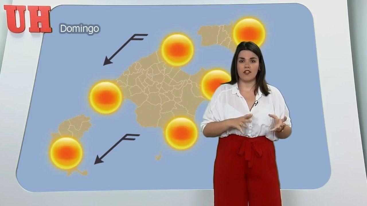 El tiempo en Mallorca: Fin de semana de bochorno