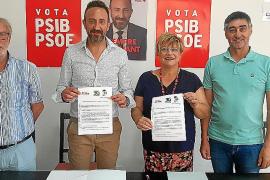 Fernando Peñalver, Rafel Fernández, Margarita Rico y Mateu Melis