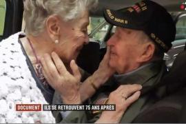 Un soldado norteamericano y una mujer francesa reviven el amor que les unió hace 75 años