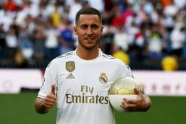 Hazard: «Jugar en el Real Madrid era mi sueño desde pequeño»