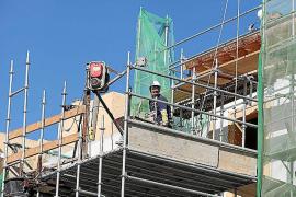 Los salarios en la construcción balear se incrementarán un 7 % en tres años