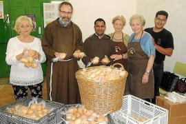 Fiesta de Sant Antoni de Padua en los Caputxins de Palma