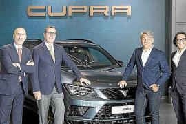 CUPRA, patrocinador oficial del World Padel Tour
