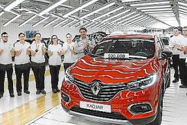 Sale de la factoría Renault Palencia el Kadjar número 500.000