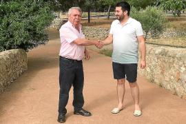 Isern y Perelló, en el Pont Trencat, límite entre Consell y Alaró