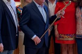 Andreu Isern alcalde de Consell y el más veterano de Mallorca