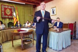 Simarro toma posesión de su tercer mandato como alcalde de Sóller