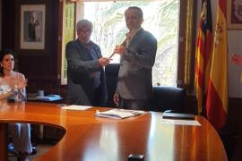 Francisco Marroig, investido alcalde de Fornalutx