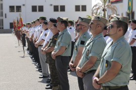 El Ejército de Tierra homenajea a sus veteranos con una fiesta en Palma
