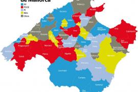 La Part Forana evidencia la tendencia al centro izquierda tras la constitución de los ayuntamientos
