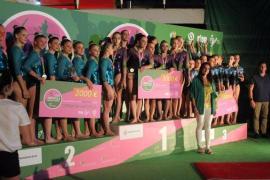El Xelska, subcampeón de la Liga Iberdrola de gimnasia artística