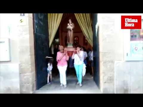 Procesión marítima en honor a Sant Antoni de Padua